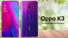 OPPO K3 Launched With 16MP Selfie Camera