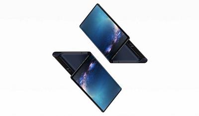 Folding flexible smartphone like Galaxy Fold
