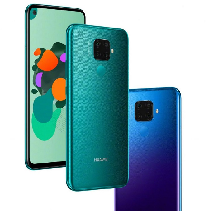 Huawei Nova 5i Pro Presented with Quad Camera & Fast Charging