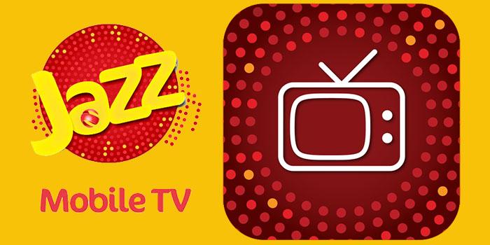 Mobilink Jazz Warid TV FREE Mobile App Packages