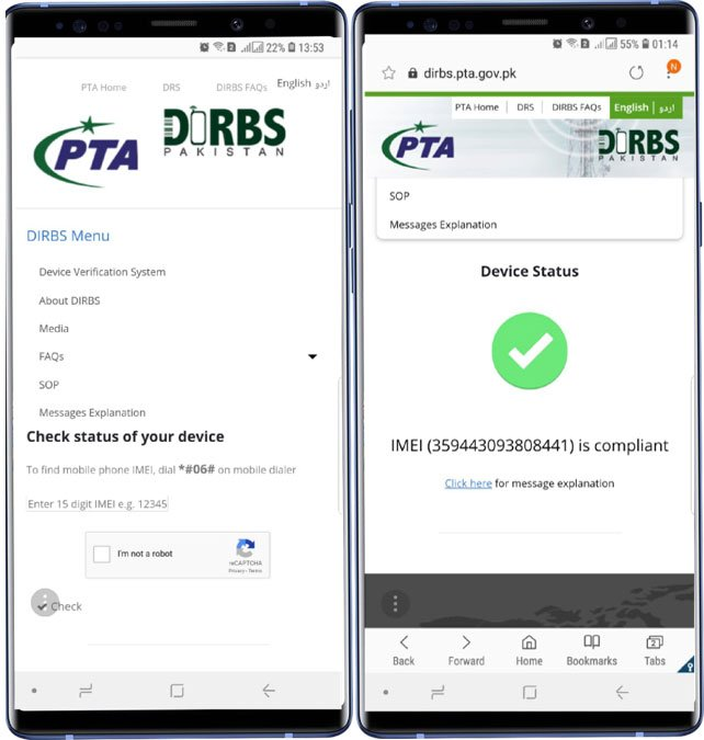 Pta Mobile Registration Guide Step by Step