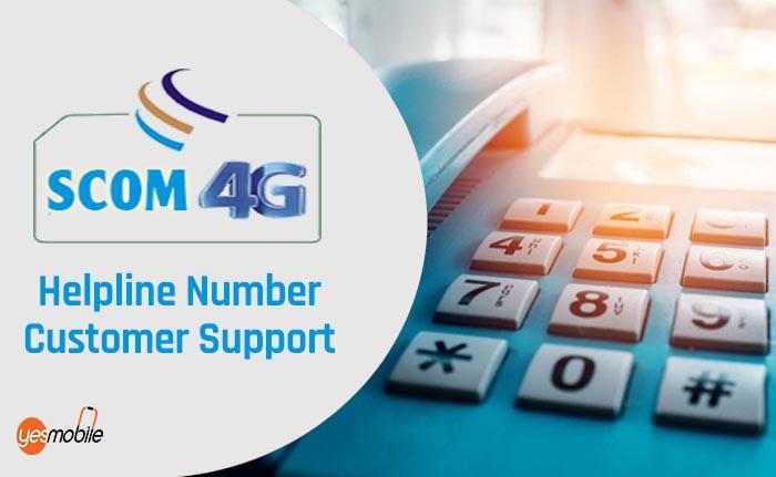 Scom Helpline Number
