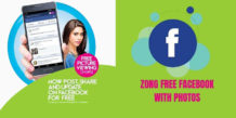 Zong Free Facebook Trick With Photos For 14 Days