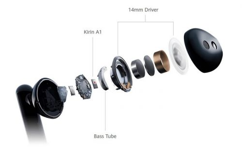 Bluetooth Headphones Huawei FreeBuds 3 IFA 2019 Kirin A1 Wireless Headphones
