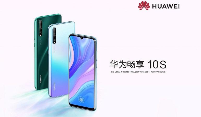 Huawei Enjoy 10s smartphone design