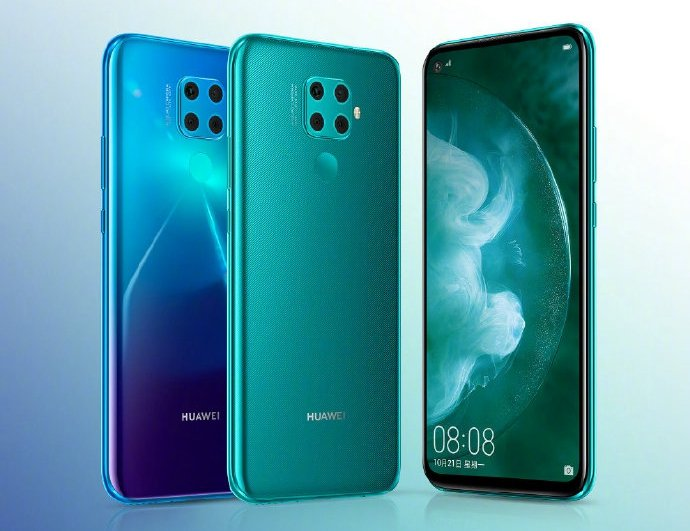 Introduced Huawei Nova 5Z