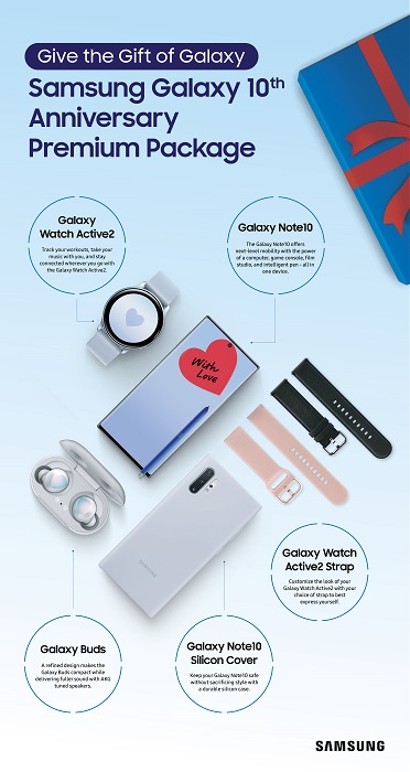 Galaxy, Galaxy Buds, Galaxy Note 10, Galaxy Watch Active2, Samsung, Smart Watches, Wireless Headphones