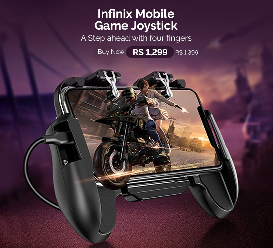 Infinix Mobile Game Joystick XGC01