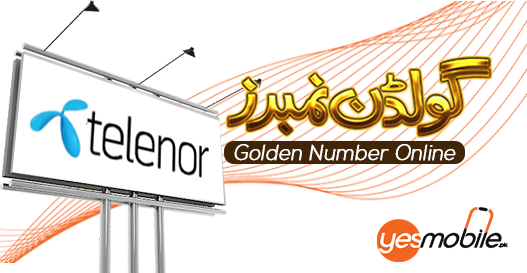 Telenor Golden Numbers for sale yesmobile