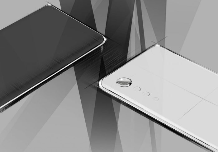 LG has published sketches of its new smartphone