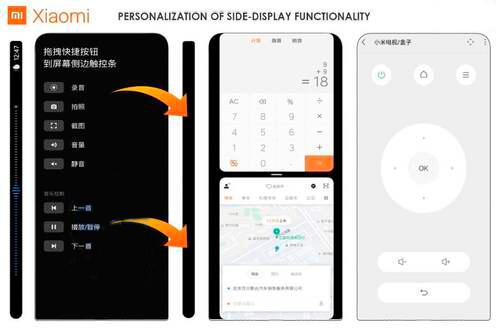 Xiaomi patented a smartphone with a futuristic design