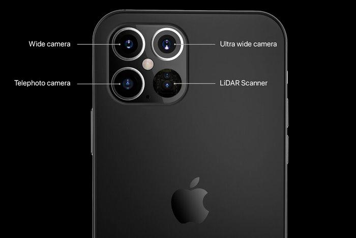 iPhone 12 Pro 5G Data leak revealed the design of cameras