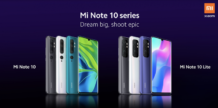 Xiaomi officially introduced the smartphone Mi Note 10 Lite