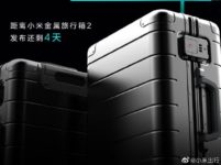 Xiaomi to launch the Metal Carry-on Luggage 2 suitcase for 999 Yuan ($141) on June 15