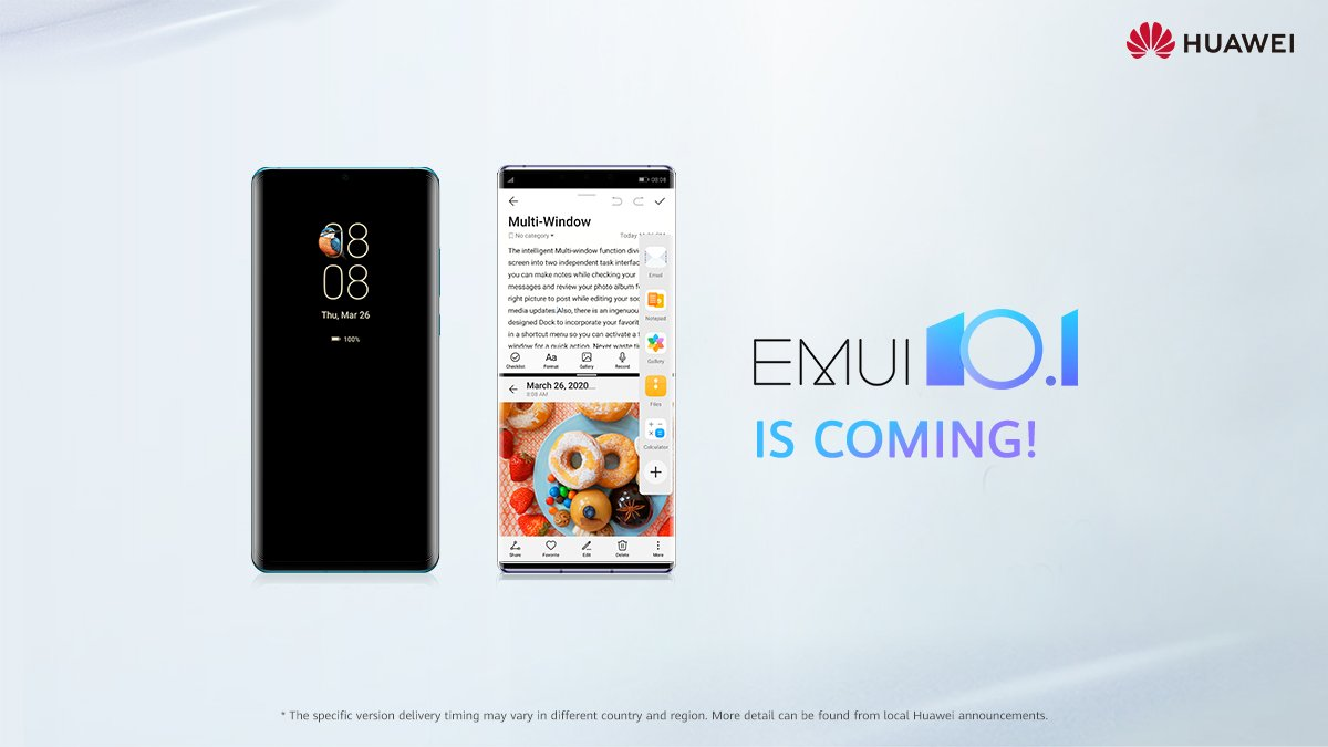 These 20 devices will receive EMUI 10.1/Magic UI 3.1 global update