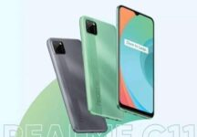 This is what the Realme C11 looks like