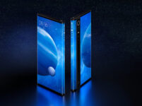 """[Updated: Inward+Outward folding flexible display too] Visionox announces second-gen """"wraparound display"""" technology"""