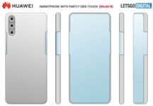 Huawei patents new smartphone with Under-Display camera and Virtual Buttons