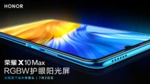 Honor X10 Max will feature RGBW LCD panel for better brightness