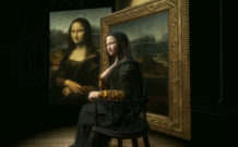 HTC made 3D Mona Lisa to be showcased at the Louvre's da Vinci exhibition