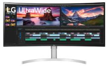 LG 38WN95C-W curved Gaming Monitor with a 38″ QHD+ IPS panel launched