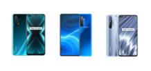 Realme X3 SuperZoom vs Realme X2 Pro vs Realme X50 Pro Player: Specs Comparison