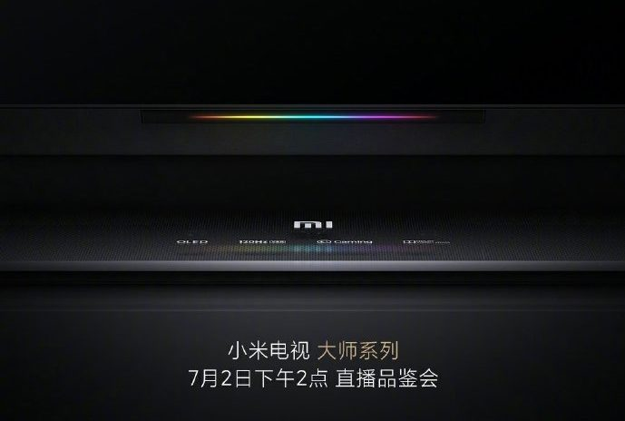 Xiaomi Master TV series has a few of its specs revealed by an official