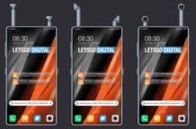 Xiaomi patents a Smartphone with built in Wireless earphones