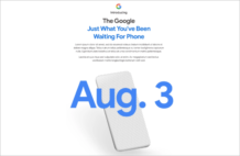 Google's official teasers confirm August 3 launch for the Pixel 4a