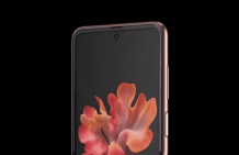 Here is a 360-degree view of Samsung Galaxy Z Flip 5G's Mystic Bronze edition