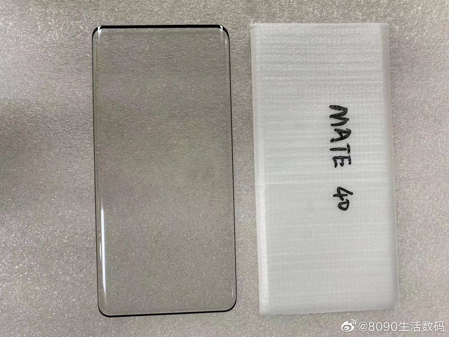 Huawei Mate 40 leak reveals its display has curved edges