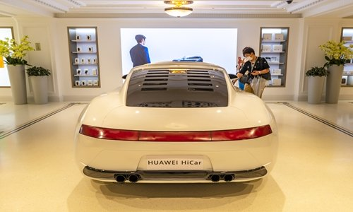Huawei and BYD unveils world's first car with HarmonyOS, also launches a special P40 variant
