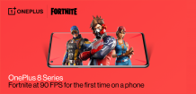 OnePlus 8 is the first smartphone to run Fortnite at 90fps