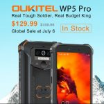 Oukitel WP5 Pro available for $129.99 as global sale commence