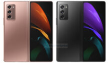 Samsung Galaxy Z Fold 2 press renders leaked to reveal design in full glory