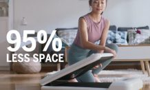 Xiaomi launches the WalkingPad S1 with a more compact design on Indiegogo