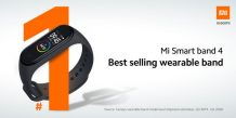 Xiaomi's Mi Band 4 is the best-selling wearable band globally