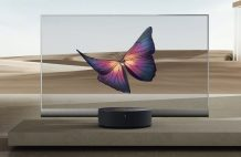 Xiaomi Mi TV LUX OLED Transparent Edition is the cheapest transparent TV at 49,999 yuan ($7,195)