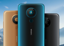 A Nokia phone alleged to be Nokia 7.3 5G spotted on next James Bond movie set