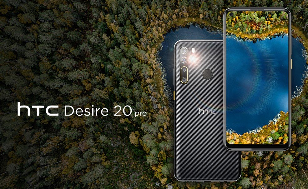 HTC Desire 20 Pro lands in Europe for 279 euros