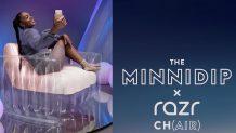 Motorola's Minnidip x Razr Ch(air) is a $70 inflatable chair that takes $200 off the Razr 5G