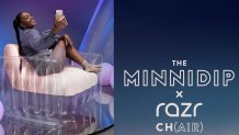 Motorola's Minnidip x Razr Ch(air) is a $70 inflatable chair that takes $200 off the Razr 5G