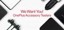 OnePlus is recruiting accessory testers