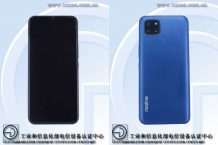 Realme RMX2020 full specifications leaked through TENAA appearance