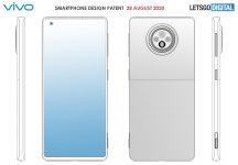 Vivo patents a smartphone design with periscope camera and dual-tone back