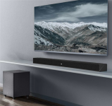 Xiaomi Mi TV Speaker Theater Edition comes with a separate subwoofer