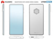 Huawei patents device with 5 rear cameras and an under-screen selfie shooter