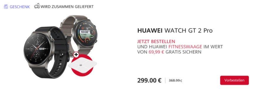 Huawei Watch GT 2 Pro pre-order
