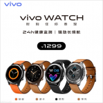 Vivo Watch with a premium design, 18 days battery life launched for ¥1299 (~$191)