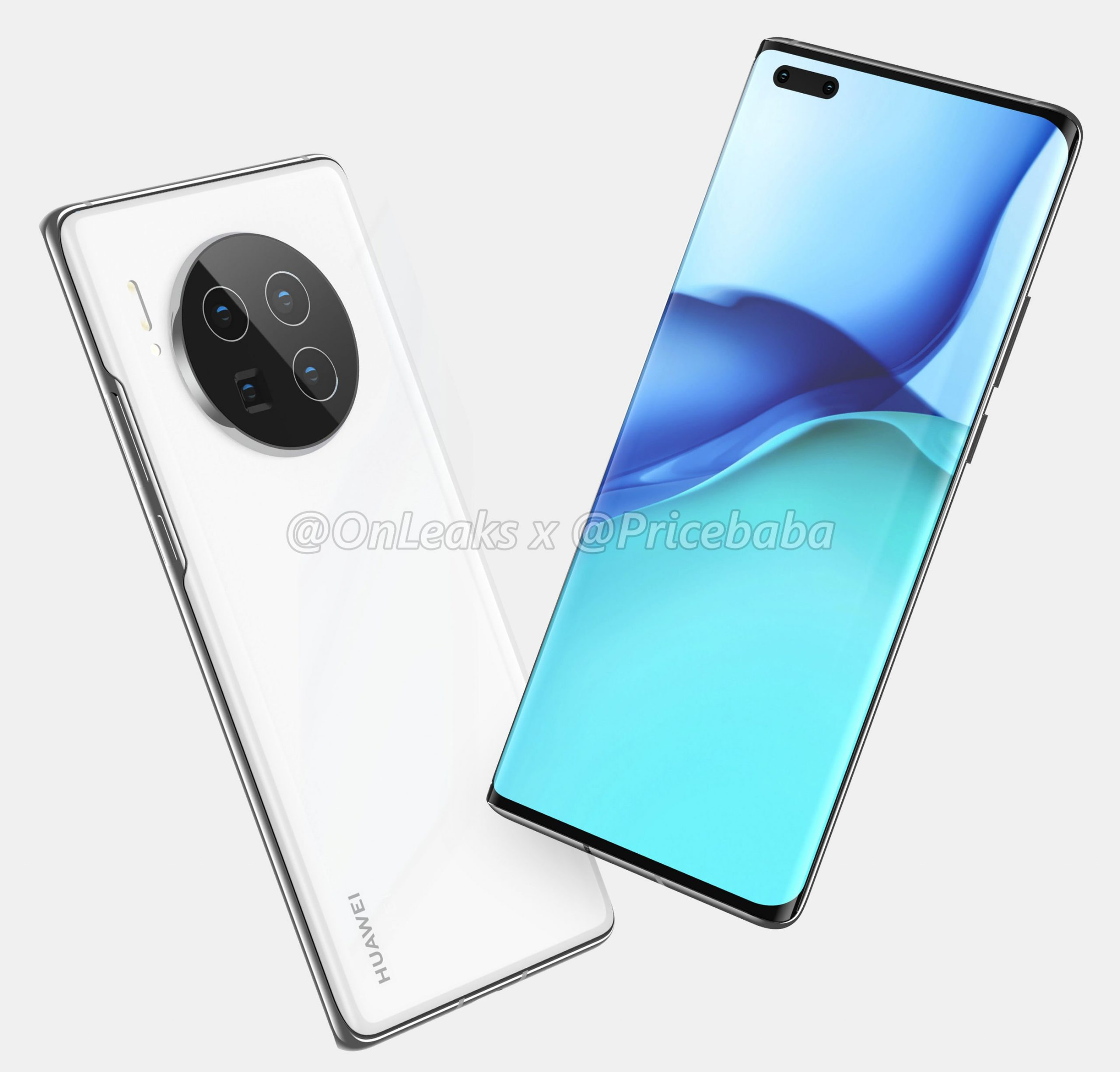 Alleged Huawei Mate 40 Pro real life images leak online ahead of launch